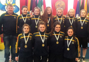 U16 girls All Ireland