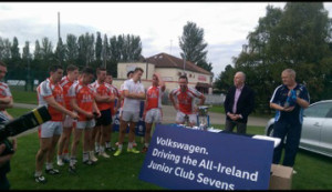 Well done to Brosna GAA Club on winning the annual All-Ireland Junior Football Seven-a-Side title in Dublin.