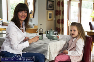 Noeleen Tangney-O'Shea with her daughter, Maryanne as they prepare for their Hospice Coffee Morning at home in Currow. ©Photograph: John Reidy