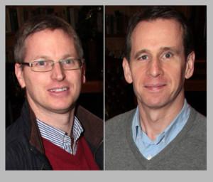 Jeremy Burke (left) and Bill Costello. ©Photographs: John Reidy