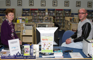 Librarians Eileen Murphy and Barthy Flynn are inviting members of the public to the castleisland Library Open Day on Thursday, October 1st. ©Photograph: John Reidy
