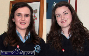 St. Joseph's Presentation Transition Year students, Ellen Sheehan (left) and Rachel O'Connor have been chosen to take part in the nationwide Webwise Youth Panel which is an initiative by Department of Education and Skills ©Photograph: John Reidy
