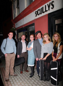 Eoin Stan O'Sullivan and members of Scully's Music School will play in the Handed Down II opener on Saturday night.