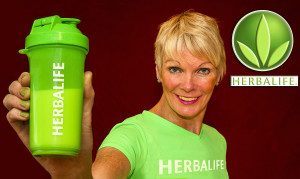 Maggie Large is an independent Herbalife distributor. ©Photograph: John Reidy