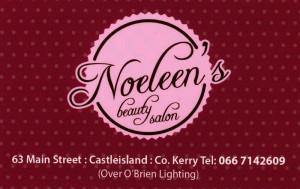 Noeleen's 20th Card