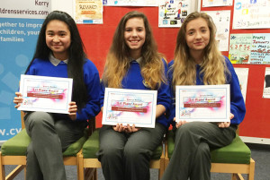 Artistic Talent at Castleisland Community College, December 2015