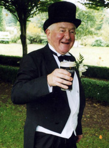 The late Dick Fitzgerald's memory is to be honoured on a golf course in fields he knew as a boy.