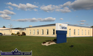 The once American owned Aetna office has been lying idle since 2011. ©Photograph: John Reidy  22-3-2011