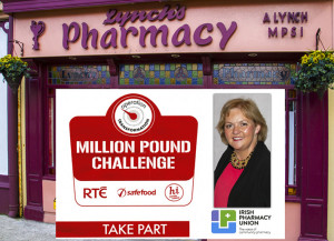 Lynch's Pharmacy has linked up with the RTÉ Operation Transformation drive to rid Ireland of One Million Pounds in 12 months. Inset, Pharmacist, Aileen Lynch and her staff will provide free weigh-in, advice and an Operation Transformation recipe book at the pharmacy on Lower Main Street on Saturday morning at 11am.  ©Photographs: John Reidy