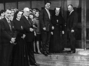 Official Opening  on St. Brigid's Day, February 1-1966. Kerryman Photo