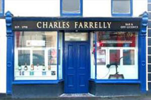 Not our Charlie - that's a different Charlie Farrelly up in Co. Leitrim.