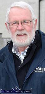 Martin Ferris, TD - paying tribute to Tom Fleming. ©Photograph: John Reidy