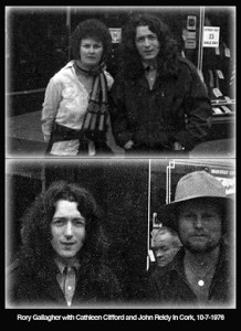 Cathleen Clifford / John Reidy and Rory Gallagher Cork 10-7-1976