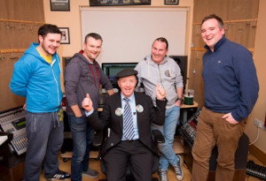 Michael Healy Rae, TD mixing music and politics with his Truly Diverse friends.