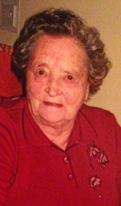 The late Mrs.Margaret 'Peg' O'Mahony, Ahaneboy.