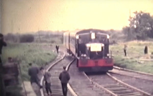 CIE Deutz G Class locomotive G611 hauling an IRRS 'Munster Area' diesel railtour from Tralee to the Gortatlea - Castleisland branch line, Co.Kerry, on Sunday 3rd September 1967. Filmed by the late Tony Price.
