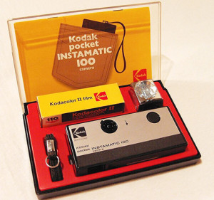 The Kodak Pocket Instamatic camera which was my constant companion in those days.