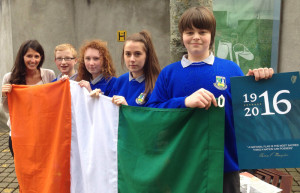 Castleisland Community College Photo from National Flag Ceremony