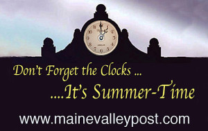 The clocks / watches go forward on this Sunday morning at 1am. An hour less in bed in the morning. ©
