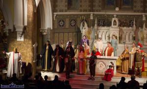 Good Friday Night Dramatisation at Saints Stephen & John 3-4-201
