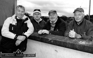 On the gate at the annual at the Knocknagoshel Pattern Day Sports meeting in 2008 were from left: Dave Leahy, Colm Keane, Jim Murphy and Larry Hickey. ©Photograph:  John Reidy 15/8/2008