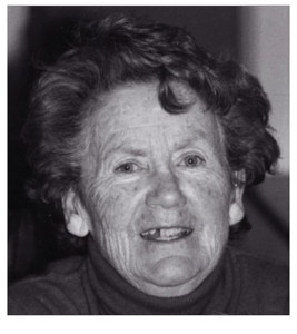 The late Eileen McGillicuddy (nee Kelleher)