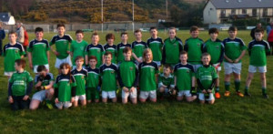 Miltown / Castlemaine U-12 A and B teams both of which had victories at the weekend over Glenbeigh in the County League.