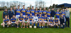 The Cordal Senior Team last Saturday pose for a team photo before playing in the Junior Qualifier against Ballymac.
