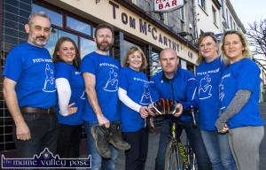At the launch of The Longest Day Charity event at Tom McCarthy's Bar this evening were: Gerry Fagan, Norma Nolan-Moran, Tom McCarthy, Nora Conway, Pieta House Kerry; Denny Greaney, Georgina Fagan and Eileen Greaney. ©Photograph:  John Reidy.