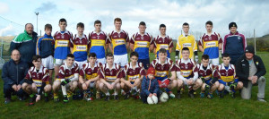 The Cordal/Scart minor team which will face Annascaul/Lispole in the Division 3A Minor Football Final at Na Gaeil GAA Club in Tralee on this Friday evening at 5:45pm.