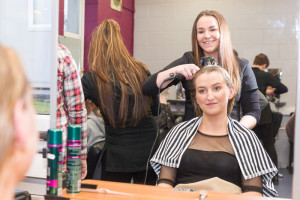 North Kerry College of Further Education is the only one in Kerry and West Limerick offering four awards in hairdressing over two years.