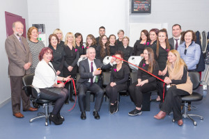The hairdressing department launched their new programme, which includes four awards: QQI Hairdressing Level 5, Junior and Senior Trade Certification, Level 3 Diploma in City and Guilds, Level 2 Certificate in Barbering.