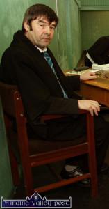 Judge James O'Connor - getting tough on the 'boy racer' culture.  ©Photograph:  John Reidy
