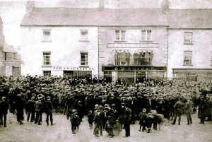 There may be compelling evidence in this photograph,  in cross-reference with accounts,  that this was taken the day the Irish Volunteer branch was set up in Castleisland on April 5th-1914.