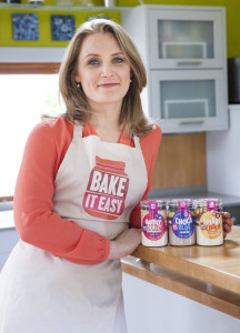 Bake-It-Easy founder and owner, Maria Brosnan - full of ideas and enthusiasm after her Dragons' Den experience.