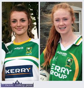 Kayla O'Connor on Kerry Cumann Na mBunScoil Team 15-8-2014
