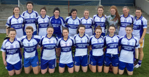 Desmonds Senior Ladies team which defeated Spa/Rathmore in Castleisland.