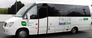 A Local Link Kerry Bus complete with with logo will be a familiar sight in rural areas from Monday.
