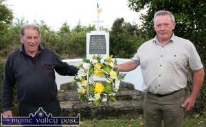 Tom Fleming Monument in Glounthane 16-6-2014