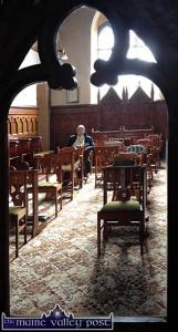 Sr. Lelia reflecting in the Presentation Convent Chapel in Castleisland. ©Photograph: John Reidy 26-9-2013