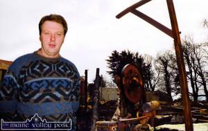 Dooneen Sawmills Fire Aftermath 22-3-2000