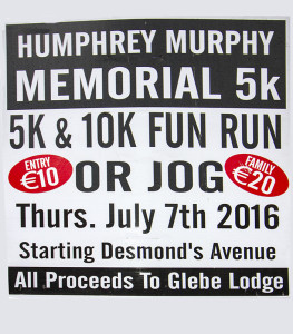 All the details you need on the Humphrey Murphy Memorial 5k and 10k Road Race / Fun Run. Click on the image to enlarge.