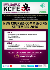 Click on the image for more information on the Kerry College of Further Education.