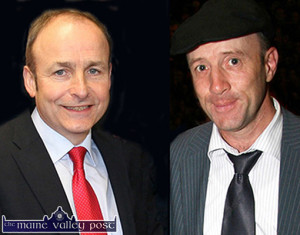 Fíanna Fáil leader, Micheal Martin, TD labelled the PM's actions as reckless and Kerry Independent TD Michael Healy Rae- who has expressed disappointment at the 'Brexit' poll results. Photographs: John Reidy