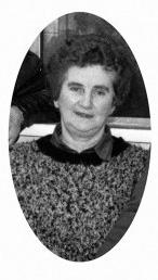 The late Tess Jackman - nee Riordan. ©