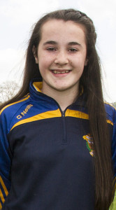 Aoife Walsh was part of the Kerry U-12 team on a big stage in Killarney.  ©Photograph: John Reidy