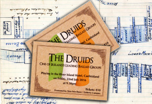 Like this post or TEXT: Druids to 087 23 59 467 to win a pair of concert tickets.