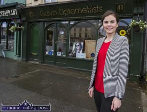 Optometrist, Maria Galvin Five Years in Castleisland 01/07/2016