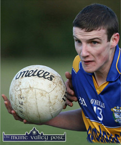 Philip O'Connor notched up three points for Cordal against Castlegregory. ©Photograph: John Reidy