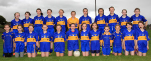 Ballymac U12 Girls who went down to Firies in their recent Division 2 Co. Final played recently in Connolly Park. Photograph: Tom O'Donoghue / Kingdom Photography